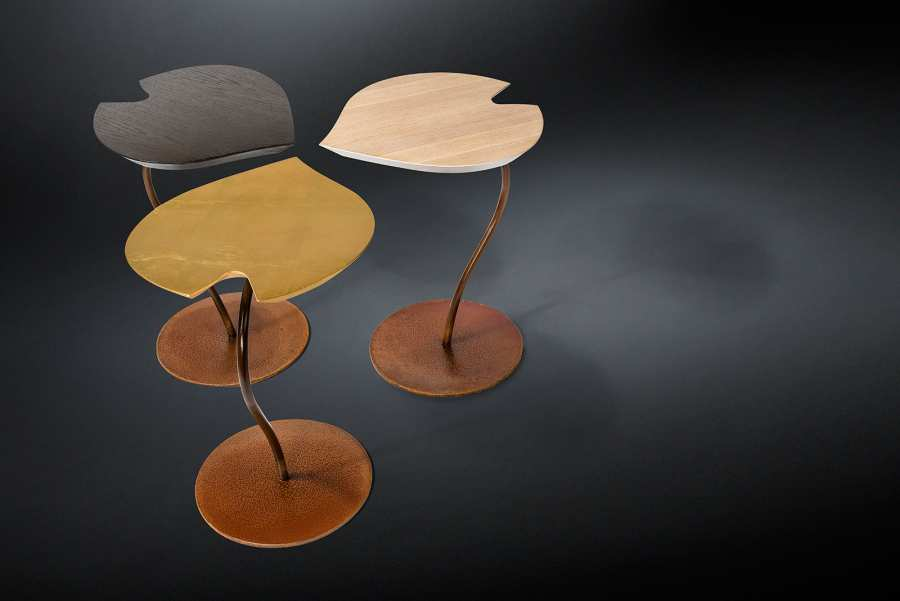 Low tables SMALL TABLE LEAF 3D Models