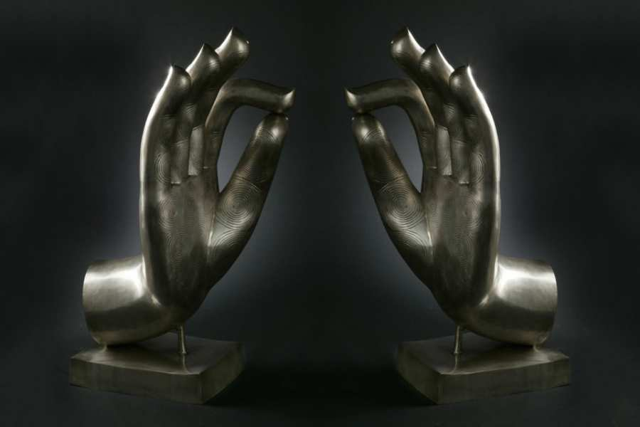 Decorative objects BUDDHA HANDS 3D Models
