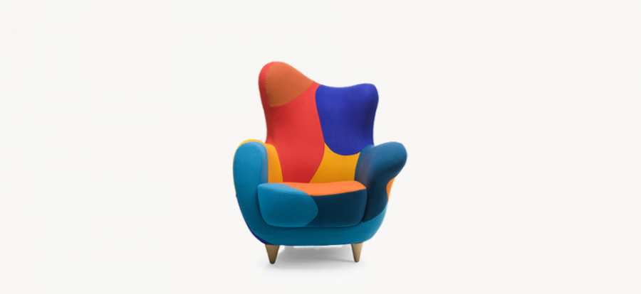 Armchairs Alessandra 3D Models