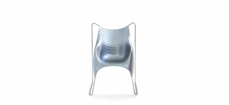 Small armchairs Wavy 3D Models