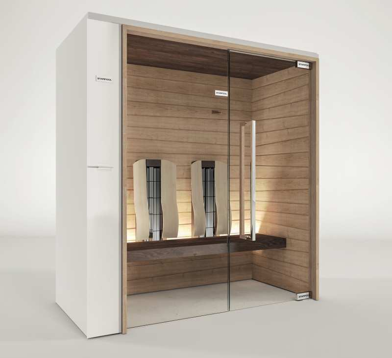 Saunas Sweet Collection - Sweet Sauna Smart Infrared 3D Models