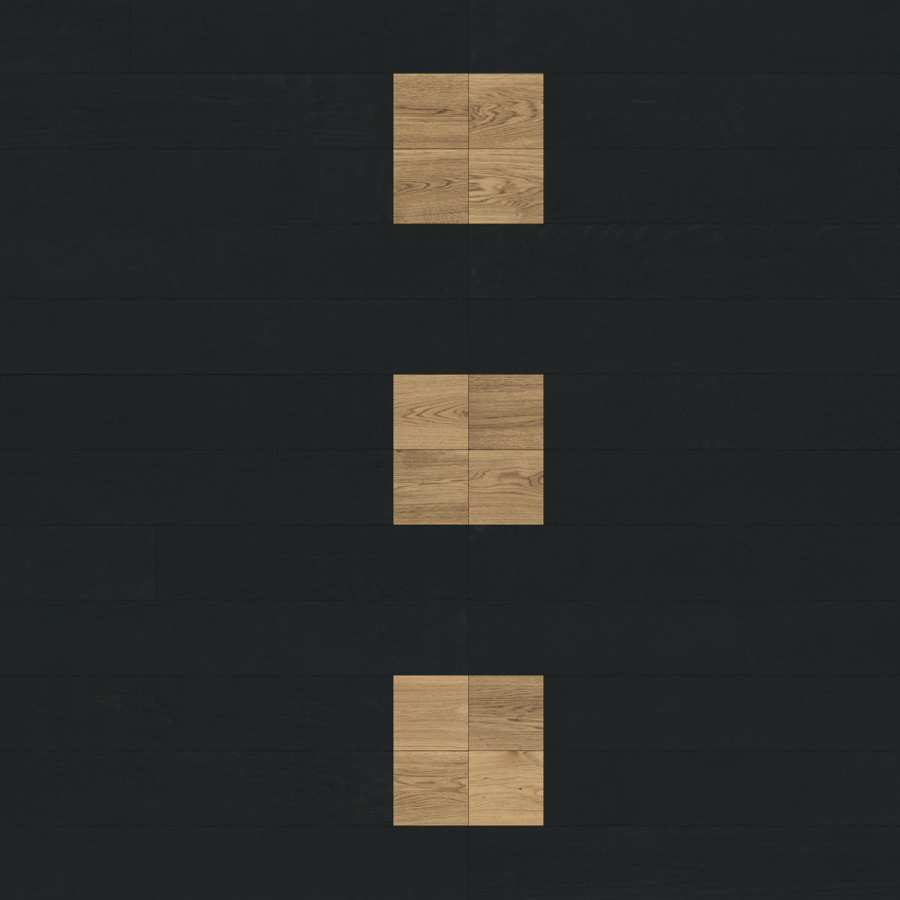 Parquet Engineered wood floors Compositions - X16 3D Models