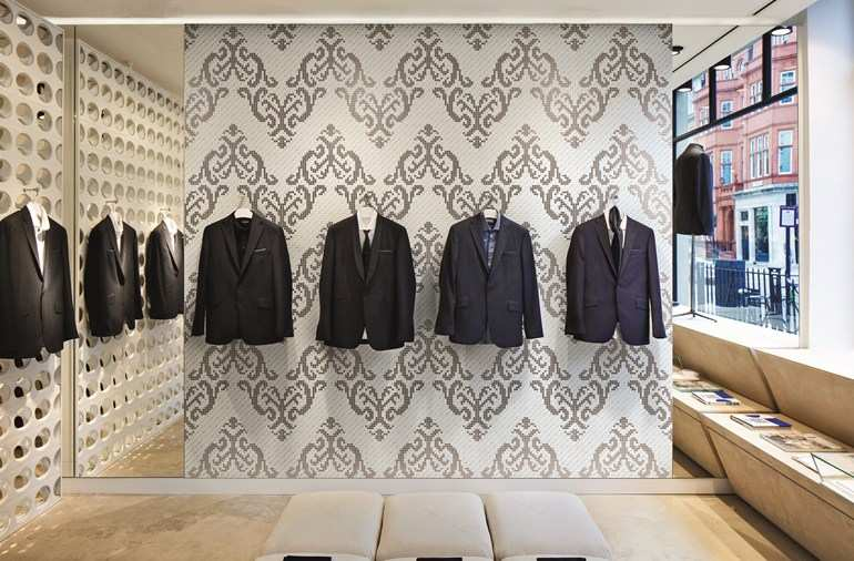 Ceramics for coverings Tessuti 3D Models