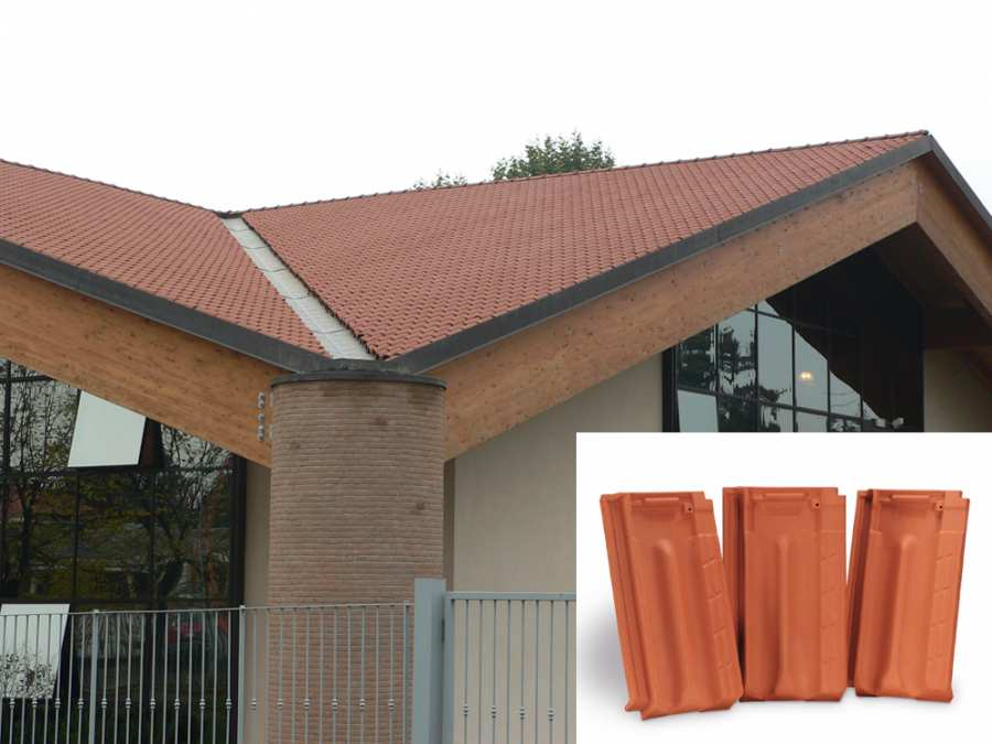 Roofs Roof tile marsigliese 3D Models