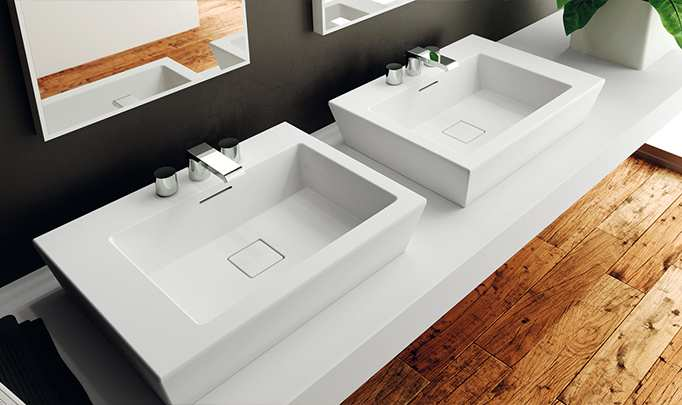 Washbasins Paper wash basins 3D Models