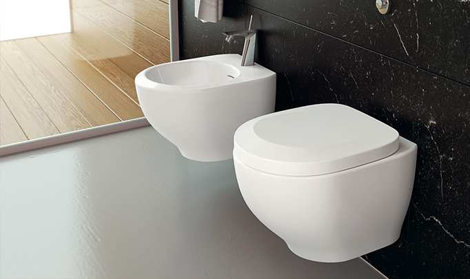 Toilet Outline sanitary fixtures 3D Models