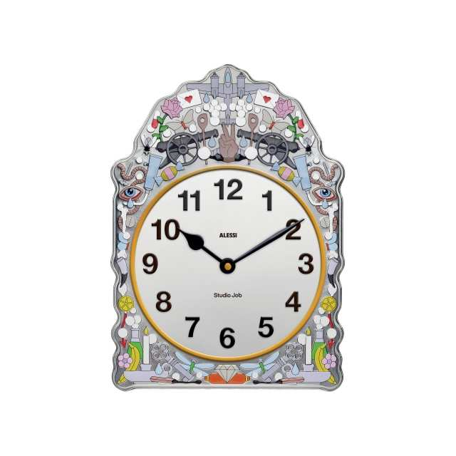 Decorative objects Wall clock Comtoise 3D Models