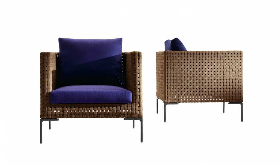 Armchairs Armchair Charles Outdoor 3D Models