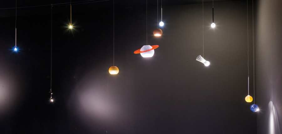 Ceiling lamps Universo LED 3D Models