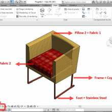 TUTORIAL 1: Creating a 3D BIM furniture object with Revit.