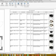 TUTORIAL 3: Revit family – the abacus of furniture in the project